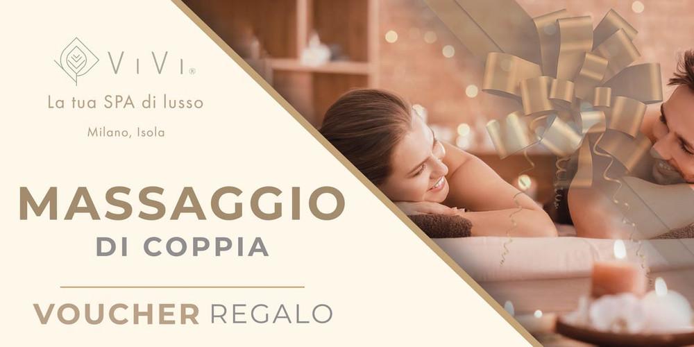 buono regalo_Massaggio di coppia_ViVi SPA privata_Milano