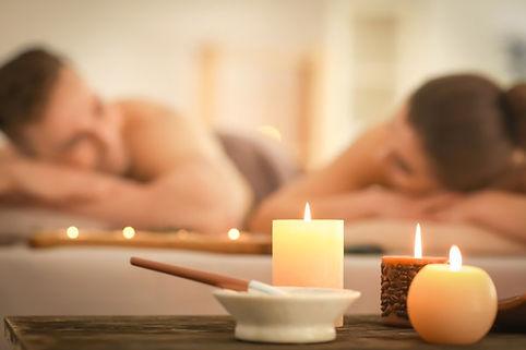 Coppia rituale trattamento benessere rel