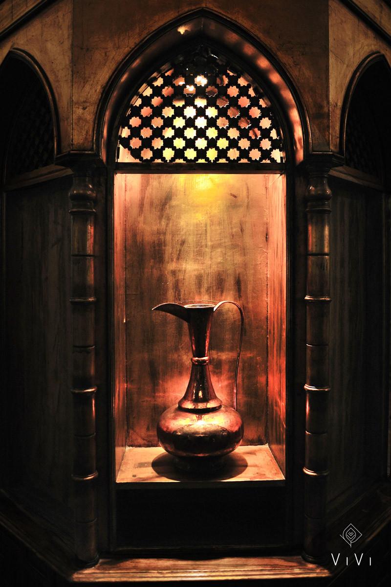 Brocca antica mediorientale olio argan
