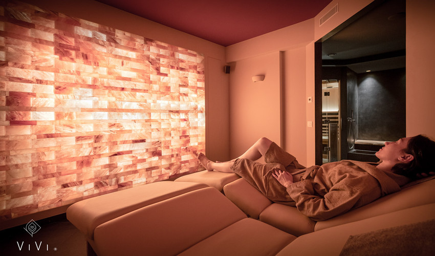 ViVi SPA - stanza relax sale rosa
