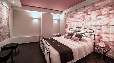 Suite SPA-Stanza mattoni sale rosa-ViVi-