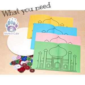 Colour sorting Masjid printable