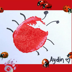 How sweet is this love bug made by one of our cutest little bugs.jpg