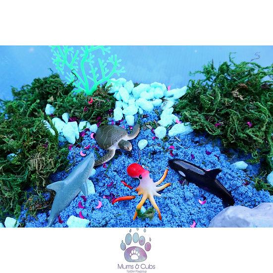 Mermaid Busy Box