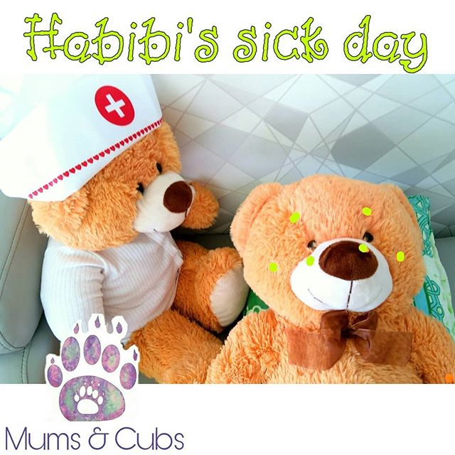 Habibi has caught the moozles! Our cubs had a blast nursing habibi back to health.jpg