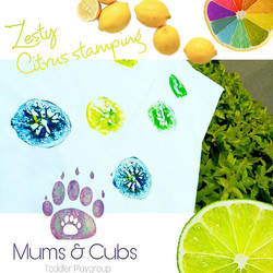 Yum yum yum, how summery and fresh does this pillowcase look_ In class this week our toddlers made f
