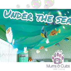 Sneak peek at our fantastic classroom! _We got no troubles_Life is the bubbles_Under the sea_ 🐾🐻🌊