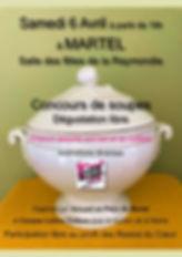 Concours soupes Martel