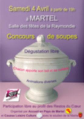 Deuxième Concours de Soupes à Martel