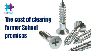 The cost of clearing former School premises