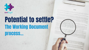 Potential to settle? The Working Document Process