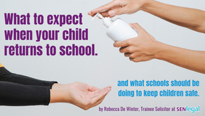What to expect if your child is due to return to school.