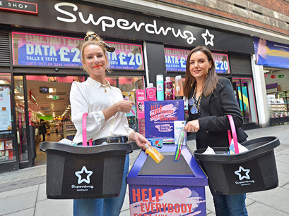 Superdrug Launch 100x New Beauty Spot Donation Bins in Stores Across the UK