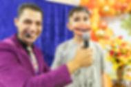 mágico ventriloquo