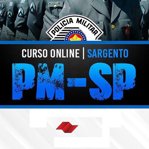 Preparatório Online PM-SP - Formação de Sargentos
