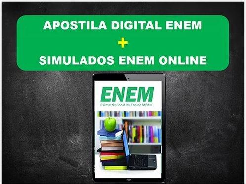 Apostila Digital ENEM 2021+ Simulados Online