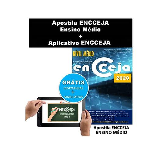 Apostila Impressa ENCCEJA Ensino Médio + Aplicativo