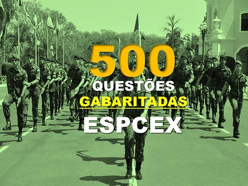 500 Questões ESPCEX 2020 em PDF - Gabaritadas