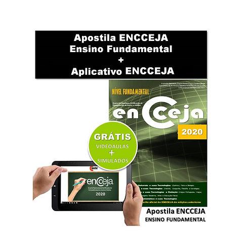 Apostila Impressa ENCCEJA Ensino Fundamental + Aplicativo