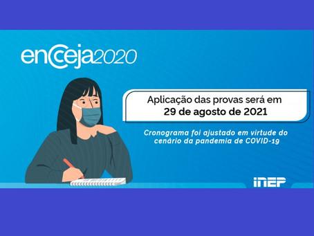 ENCCEJA 2020: Inep divulga locais de realização das provas