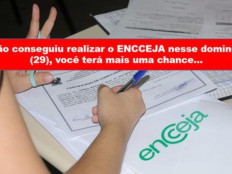 Começa hoje prazo para pedidos de reaplicação do ENCCEJA 2020