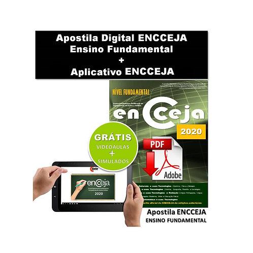Apostila Digital ENCCEJA Ensino Fundamental + Acesso Aplicativo