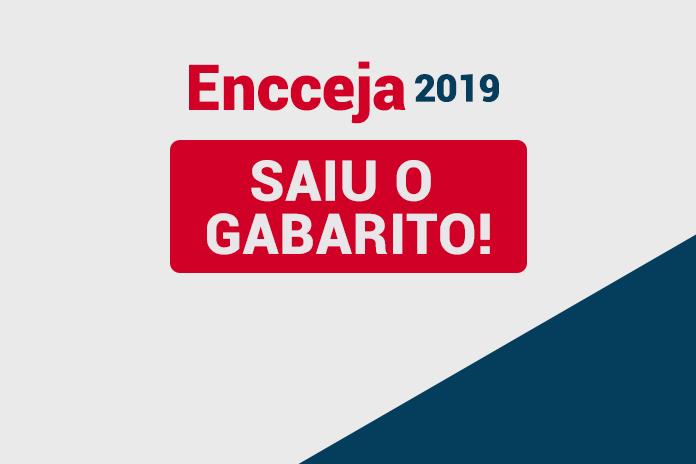 ENCCEJA 2019: SAIU O GABARITO