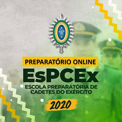 Preparatório Online EsPCEx 2020  - Escola Preparatória de Cadetes do Exército