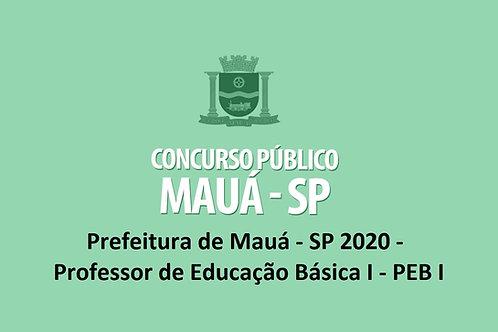 Preparatório Online - Prefeitura de Mauá - SP 2020 - Professor de Educação Básic