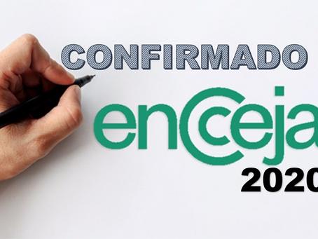ENCCEJA 2020 É CONFIRMADO PELO INEP!
