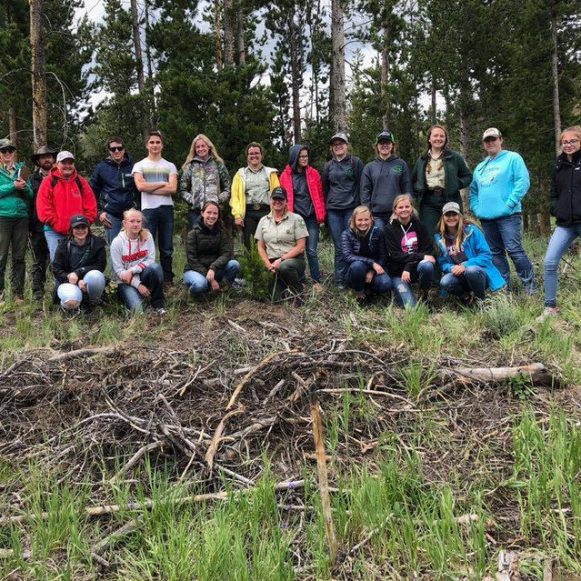 Wyoming Congressional Award Service Retreat