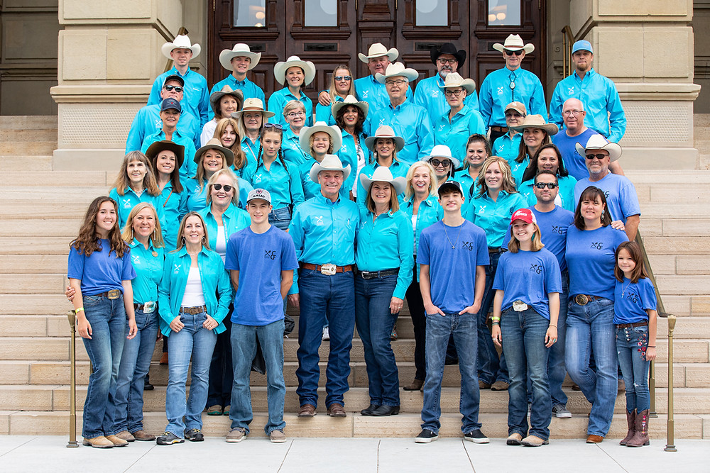 Wyoming Hunger Initiative volunteers