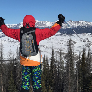 Wyoming Congressional Award expedition skiing