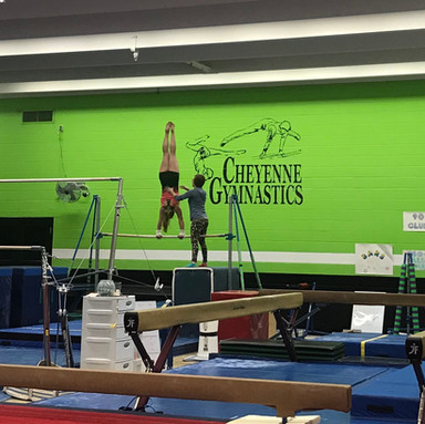 Wyoming Congressional Award Physical Fitness goal gymnastics