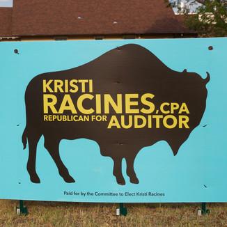 Kristi Racines Sign in the Wild