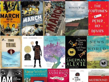2017: The Book Report