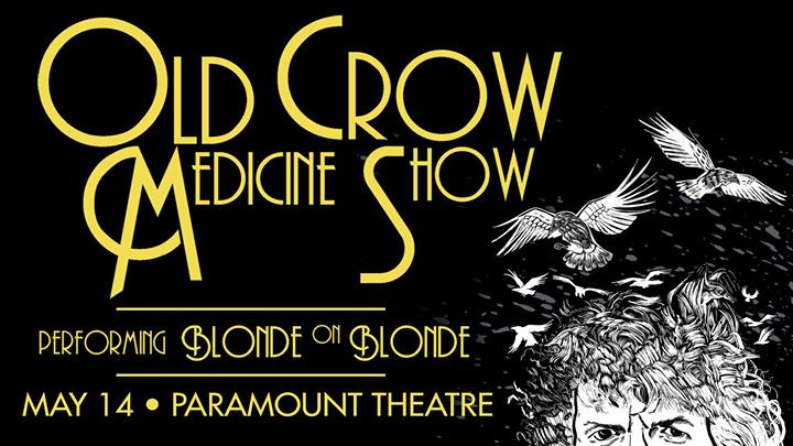 Old Crow Medicine Show at Paramount Theatre poster