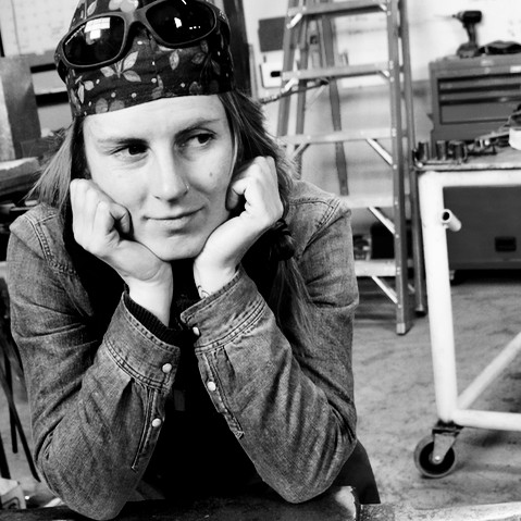 Betsy Bower, Sculptress and Welder