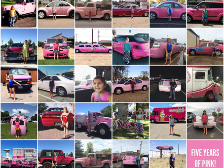 Five Years of Pink