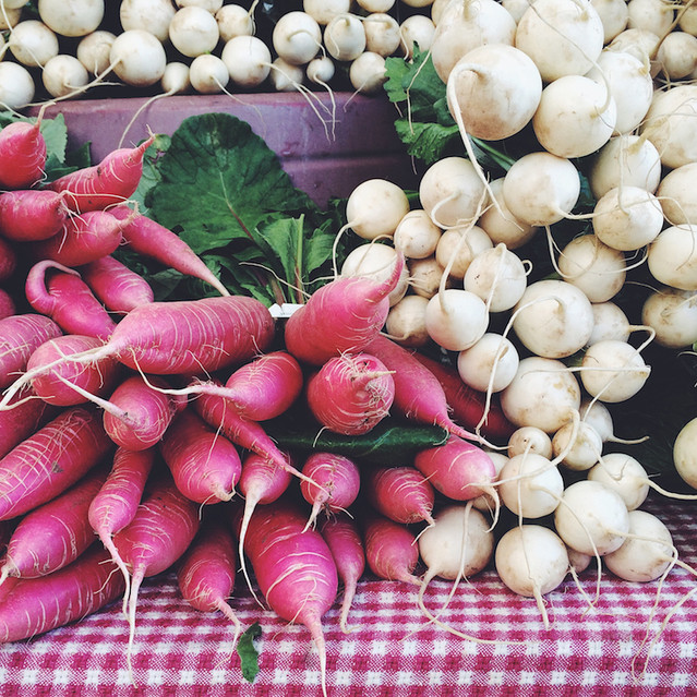 Downtown Growers' Market vegetables