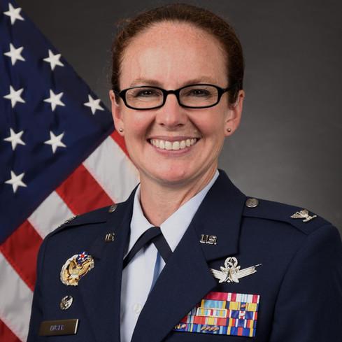 Col Stacy J. Huser, Commander, 90th Missile Wing, F.E. Warren AFB