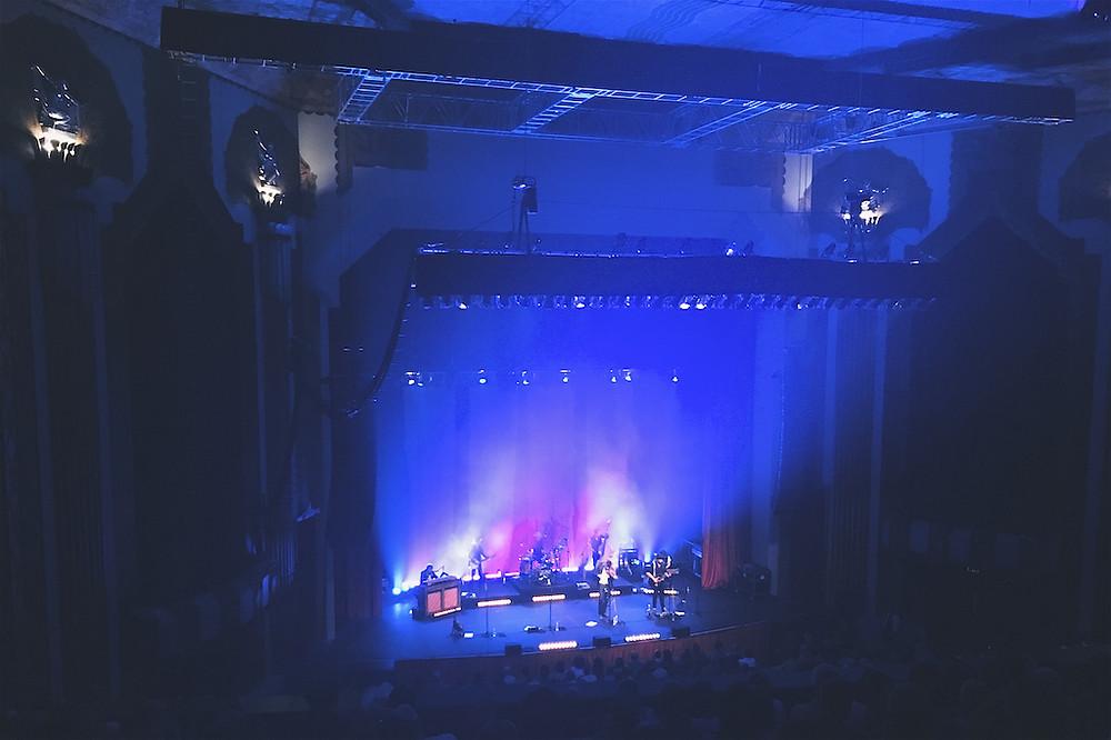 Old Crow Medicine Show on stage in Denver