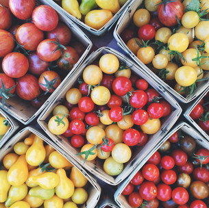 Downtown Growers' Market tomatoes
