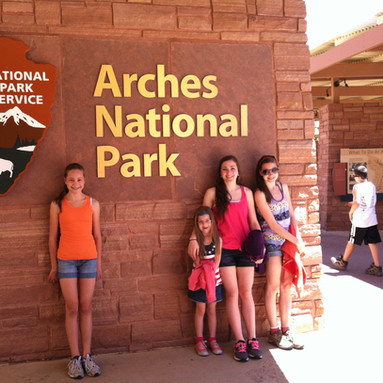 Wyoming Congressional Award exploration Arches National Park