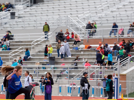 The Elementary School Track Meet