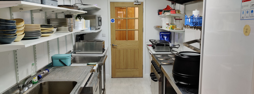 Professional kitchen at your fingertips
