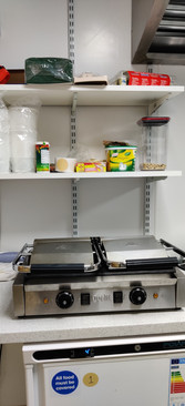 Panini Grill and Storage