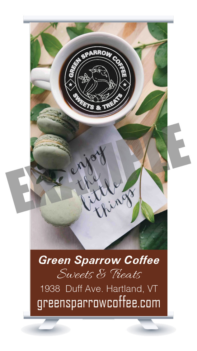 Green Sparrow Coffee, Sweets & Treats, Vermont