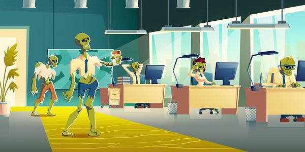 office-zombies-work-cartoon-vector-illus