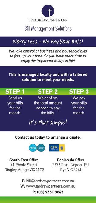 Bill Management Solutions